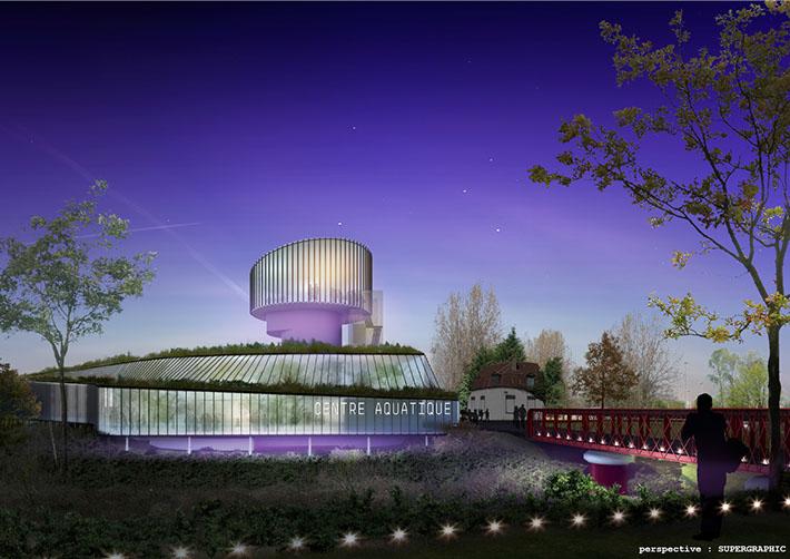 Dunkerque piscine intercommunale p nk architectures - Piscine petite synthe ...